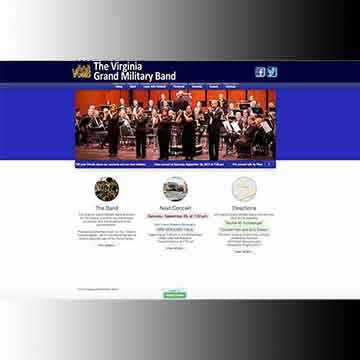 Virginia Grand Military Band index page